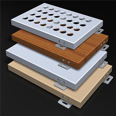 仿木纹氟碳铝单板价格