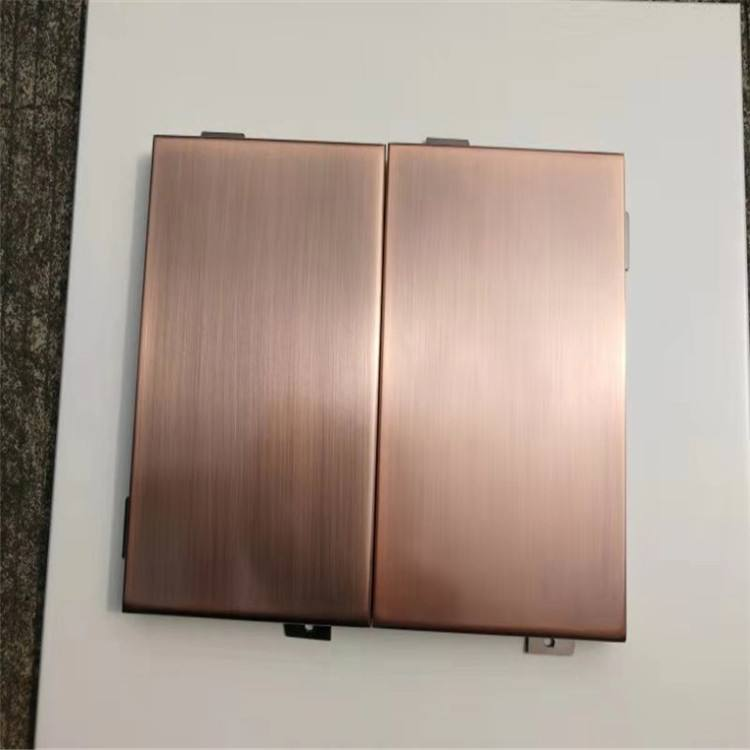 仿铜拉丝铝单板为什么色差大